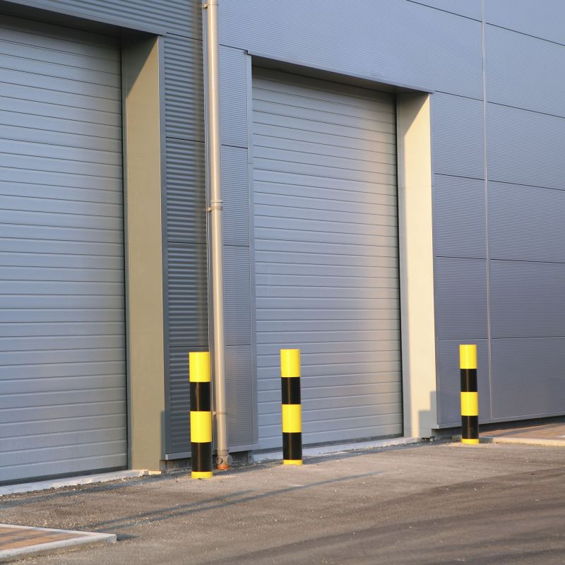 Insualted Roller Shutter Steel Grey