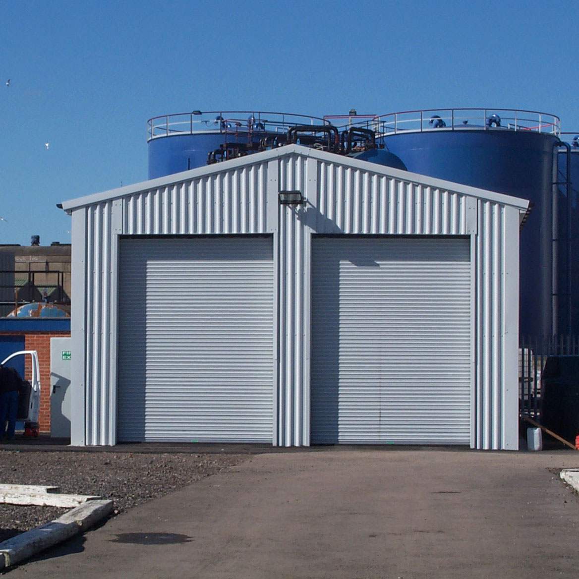 Insulated Roller Shutter Doors 07