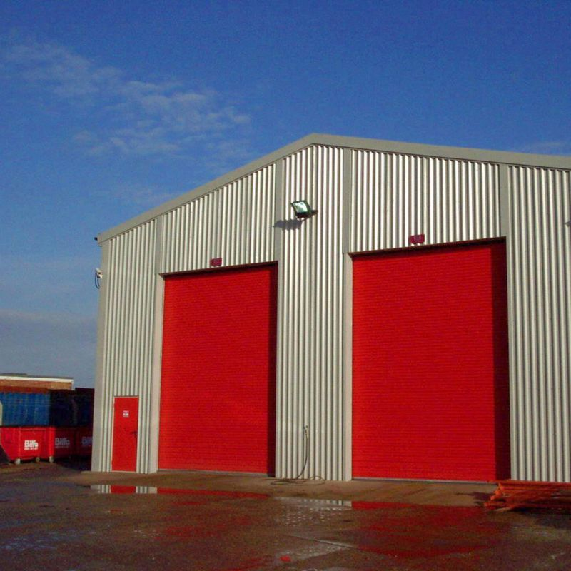 Insulated Roller Shutter Doors 08